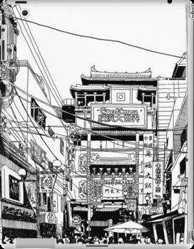 Yokohama - China town by parisiansamurai