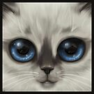 The Shining Kitten by helenasia