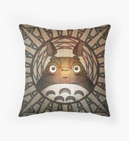 Wood Spirit of the Forest  Throw Pillow