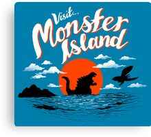 Monster Island Canvas Print