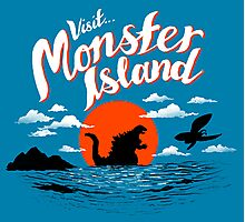 Monster Island Photographic Print
