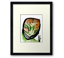 Naga/Lizard Man Framed Print