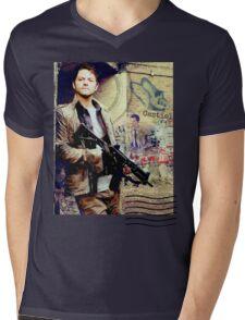 Purgatory Mens V-Neck T-Shirt