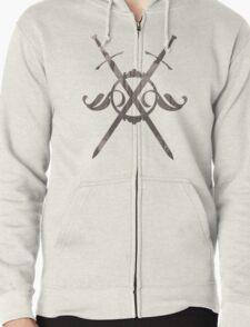 Crossed Swords Zipped Hoodie