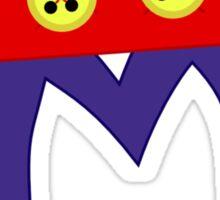 Mickey M Sticker