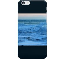 Lake Michigan in Sheboygan, Wisconsin on 2-19-2013 iPhone Case/Skin