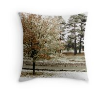 Infrared Fall Throw Pillow