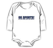 Go sports! Do the thing! Win the points! One Piece - Long Sleeve