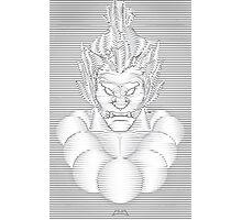 Akuma Waveform Evil Intent Photographic Print