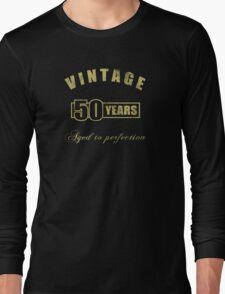 Vintage 50th Birthday T-Shirt Long Sleeve T-Shirt