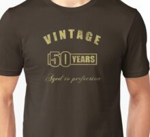 Vintage 50th Birthday T-Shirt Unisex T-Shirt