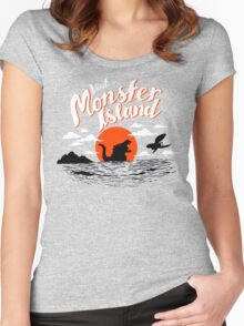 Monster Island Women's Fitted Scoop T-Shirt
