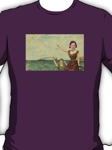 Neutral Milk Hotel - Jeff Mangum on In the Aeroplane Over the Sea Cover T-Shirt