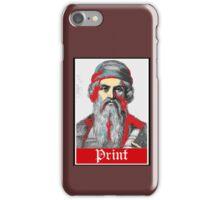 PRINT Gutenberg iPhone Case/Skin