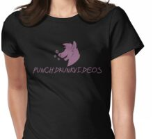 Punch Drunk Videos Womens Fitted T-Shirt