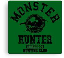 Monster Hunter Hunting Club Canvas Print