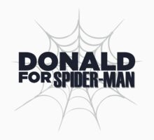 Donald for Spider-Man One Piece - Long Sleeve