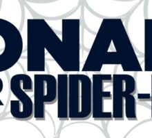 Donald for Spider-Man Sticker