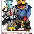 Birds, Bears and Automobiles by Kenny Durkin