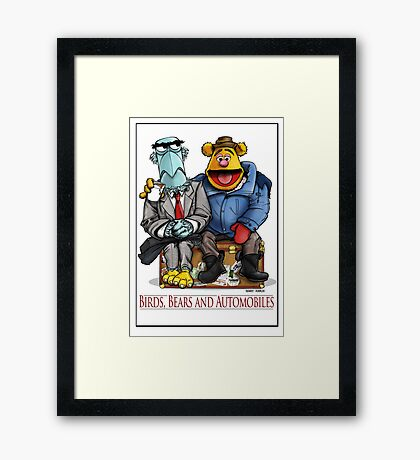 Birds, Bears and Automobiles Framed Print