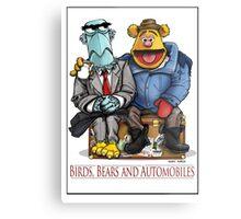Birds, Bears and Automobiles Metal Print