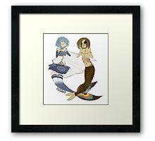 ♥ Mermaid Princesses ♥ Framed Print