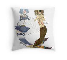 ♥ Mermaid Princesses ♥ Throw Pillow