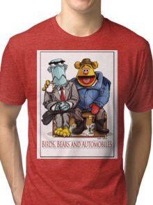 Birds, Bears and Automobiles Tri-blend T-Shirt