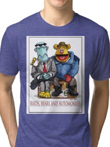 Birds, Bears and Automobiles Tri-blend T-Shirt