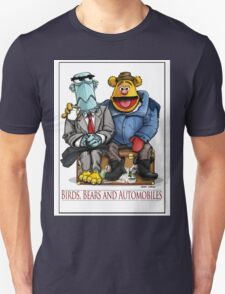 Birds, Bears and Automobiles Unisex T-Shirt