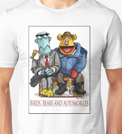 Birds, Bears and Automobiles Unisex T-Shirt