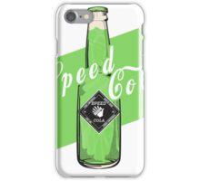 Speed Cola - Poster iPhone Case/Skin
