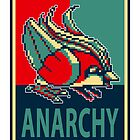 Bird Jesus For Anarchy by Ramo393