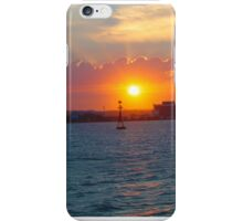 Sunset on the water iPhone Case/Skin