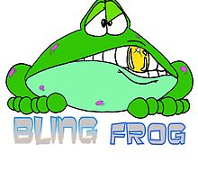 Bling Frog by Skree