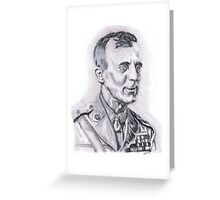 General Smedley Butler, USMC Greeting Card