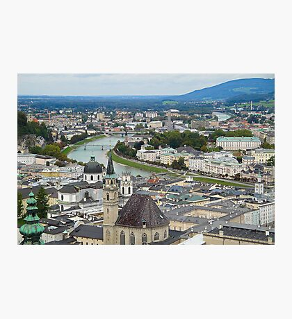 Salzburg from Hohensalzburg Castle Photographic Print