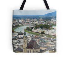 Salzburg from Hohensalzburg Castle Tote Bag
