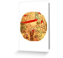 UPON A TIME Greeting Card