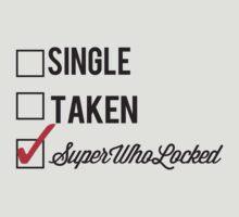 SINGLE TAKEN SUPERWHOLOCKED by fandomfashions