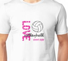 Love Volleyball Street Style  Unisex T-Shirt