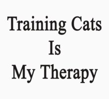 Training Cats Is My Therapy  by supernova23