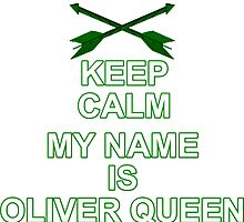 My Name is Oliver Queen by Hadam10Rose