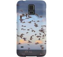 Dungeness Bay Flock of Seagulls Samsung Galaxy Case/Skin
