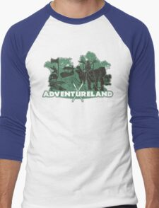 ADVENTURE in this LAND! Men's Baseball ¾ T-Shirt