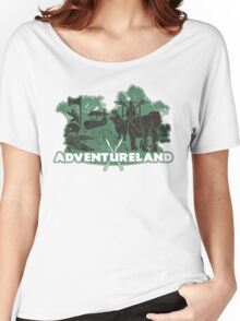 ADVENTURE in this LAND! Women's Relaxed Fit T-Shirt