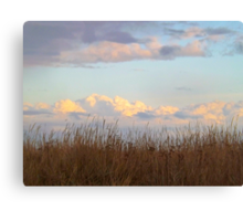 Clouds of the Dungeness Bay Canvas Print