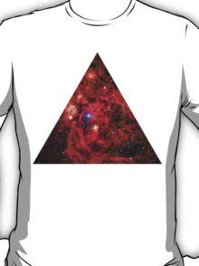 Lobster Nebula Triangle   Fresh Universe T-Shirt