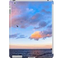 Jeweled Clouds in Puget Sound iPad Case/Skin