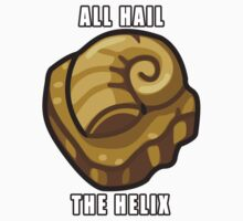 ALL HAIL THE HELIX FOSSIL Kids Clothes